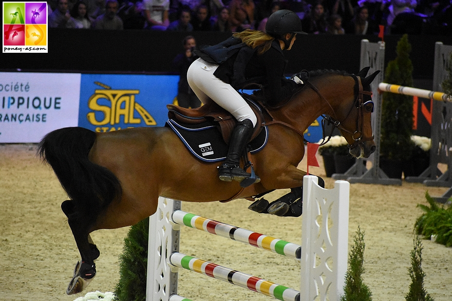 Romane Orhant et Quabar des Monceaux - ph. Poney As