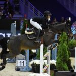 Louise Sadran et United des Islots, dans le Grand Prix du CSIP de Lyon - ph. Poney As