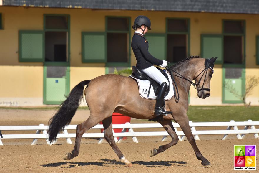 Johanna Kullmann et Champ of Class - ph. Poney As