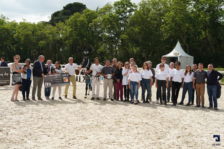 Poney As récompensait les champions Suprêmes du grand régional de Pays de Loire - ph. Agence Ecary