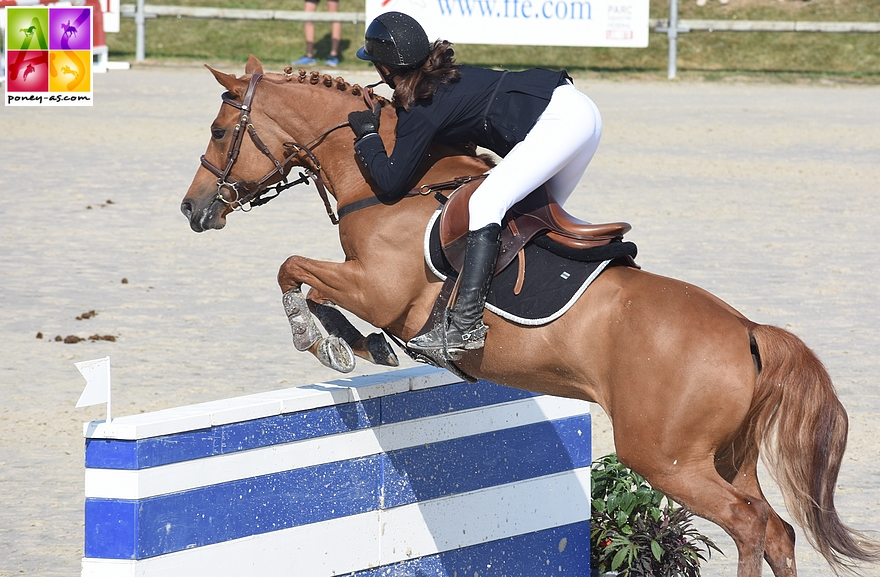 Agathe Masquelier et Alia des Cosses - ph. Poney As
