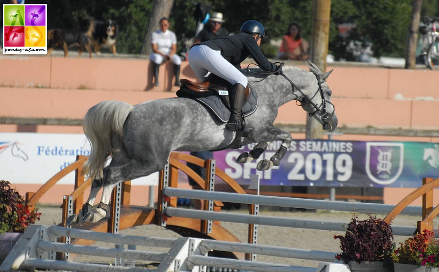 Easy des Iris et Stéphanie Lemoine - ph. Poney As