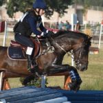 Laura Ballot et Secret d'Arquetan - ph. Poney As