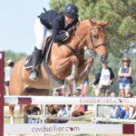 Agathe Masquelier et Alia des Cosses remportent l'épreuve phare de la TDA de Fontainebleau – ph. Poney As