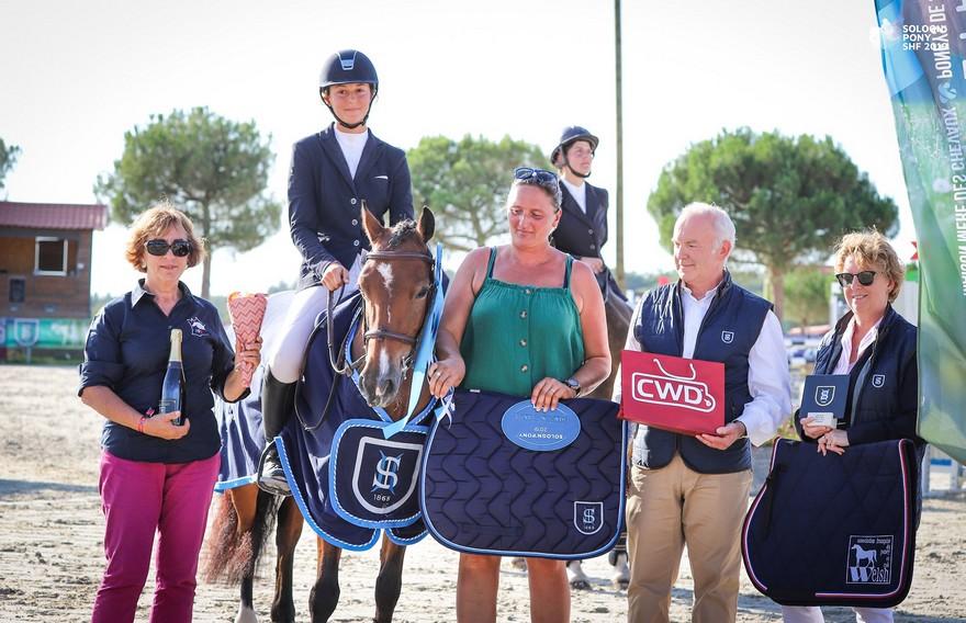 La championne des 5 ans C Editionlimitée Rouget et Marjolaine Hess - ph. SHF