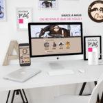 Nouveau site Internet pour l'Elevage de Choc - création Pourquoi P'AS