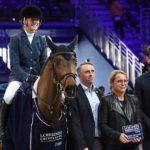 Claudia Moore inscrit à son palmarès le Grand Prix international de Lyon – ph. Poney As