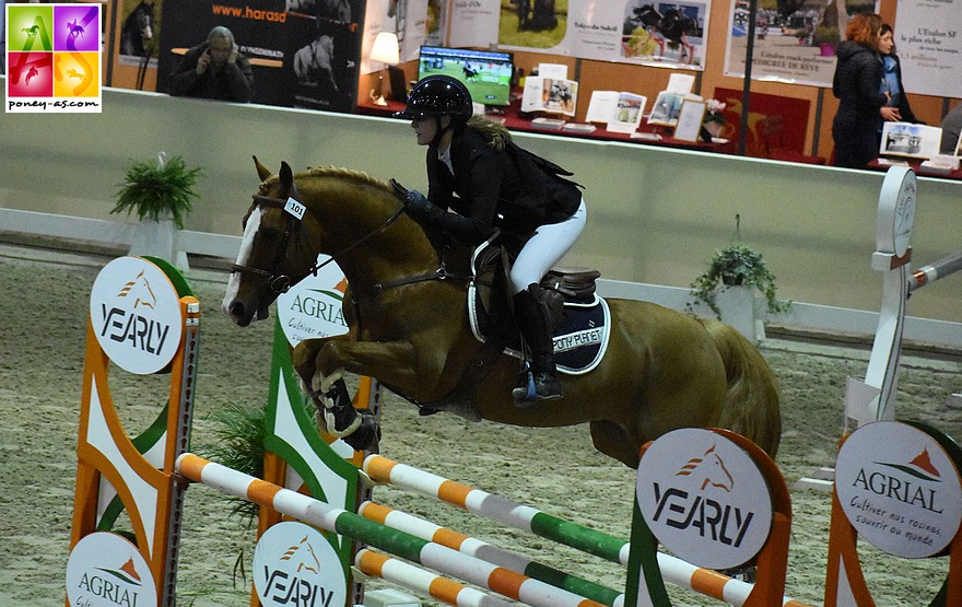 Romane Orhant et Champagne d'Ar Cus – ph. Poney As
