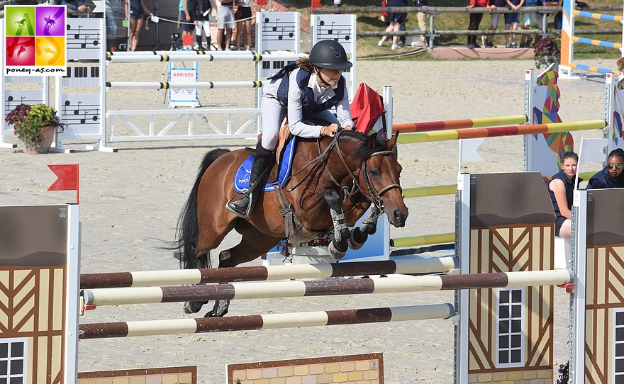 Diane Mussard et Una Ninia remportent le Grand Prix As Excellence de Barbaste - ph. Poney As