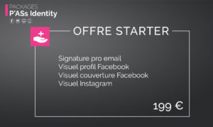Pack P'Ass Identity : Offre Starter