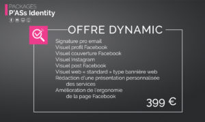 Pack P'Ass Identity : Offre Dynamic