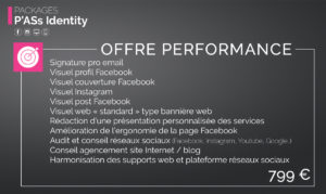 Pack P'Ass Identity : Offre Performance