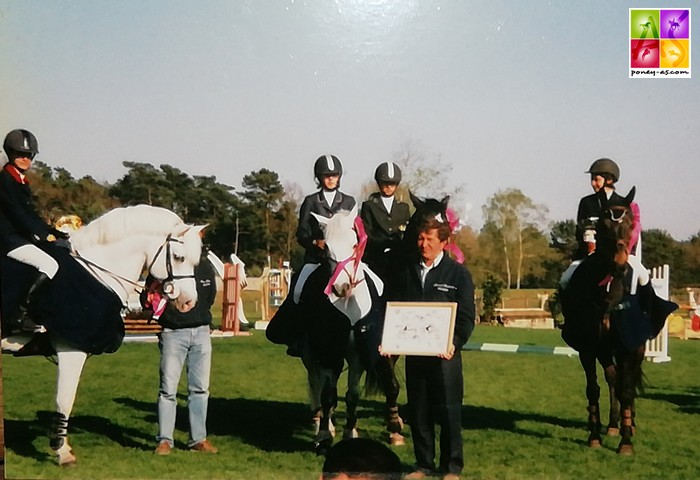 Bonneau International Poney de 2003, épreuve par équipe