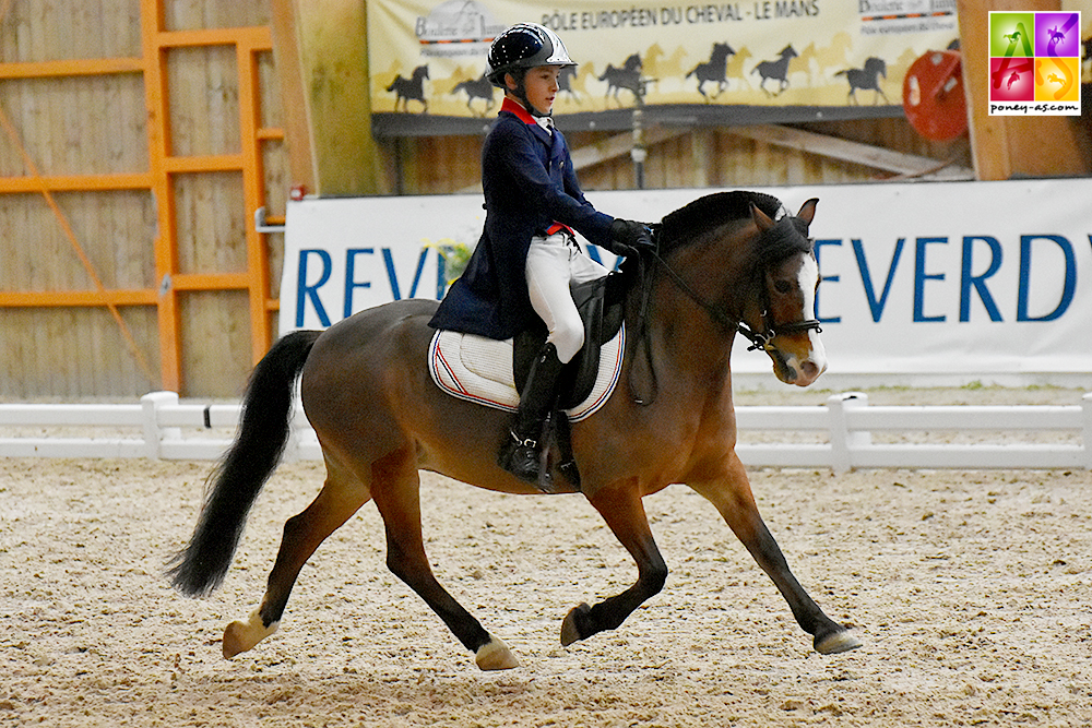 Laurick Hardy et Polhaars Daphne - ph. Poney As