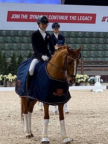 Sophia Boje Obel Jørgensen et Adriano B - ph. Ponydressur.dk