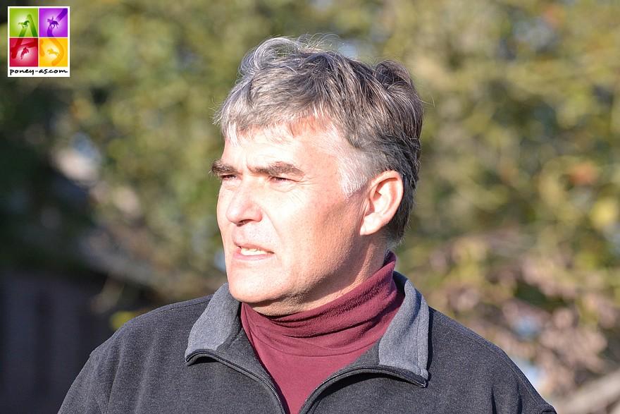 Ludwig Stassen, neveu de Hans-Georg Bönniger, gère depuis 1997 l'élevage de poneys de Dressage – ph. Poney As