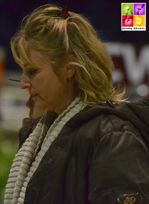 Cathy Olivier-Lecomte a emmené au plus haut niveau un panel de jeunes cavaliers et compte 6 championnats d'Europe à son actif en tant que coach – ph. Poney As