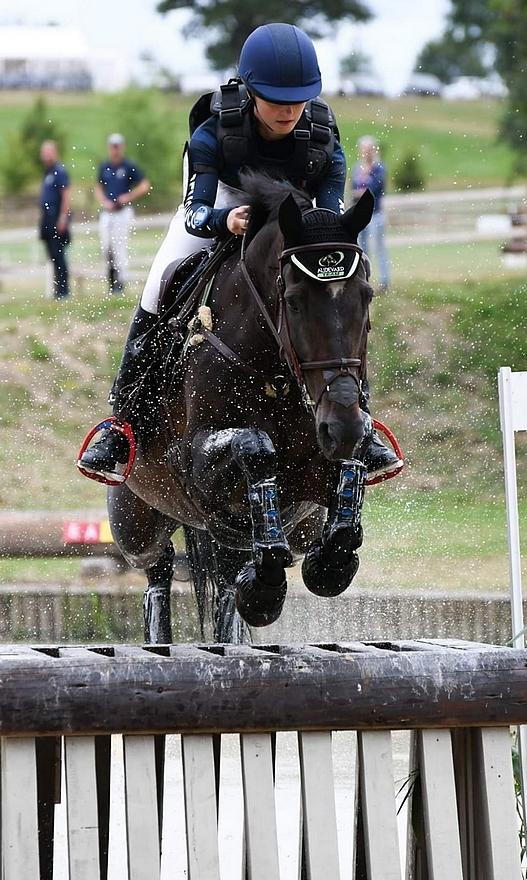 Orage de LonguenéeENE avec qui Héloïse Le Guern a participé au championnat d'Europe Junior en Italie en 2016 – ph. Cisabelle Delecourt