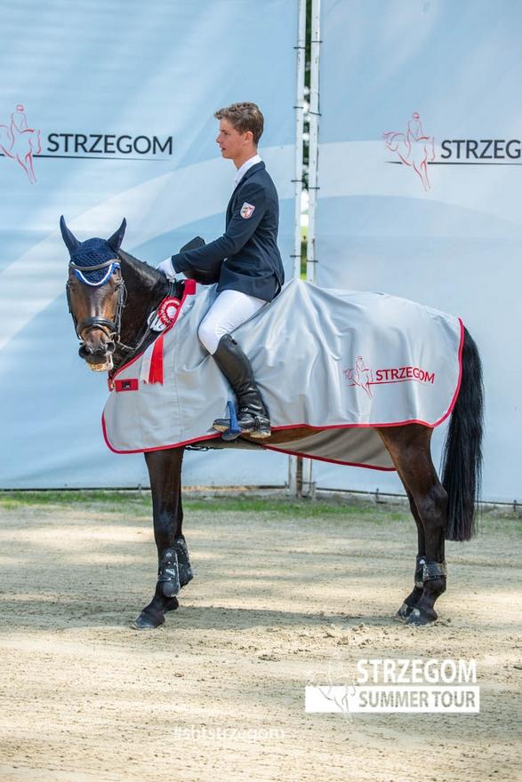 Le CCIP 2* de Strzegom a souri à l'Allemand Matti Garlichs et Andante D – ph. Strzegom Horse Trials
