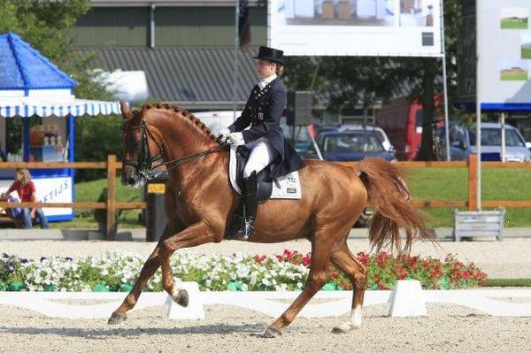Camille Judet Cheret et Mister Grand Champ - ph. coll. privée