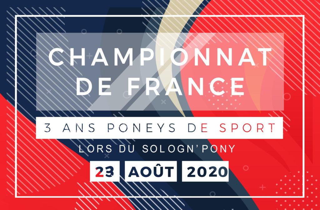 championnat de France 3 ans poneys de sport 2020