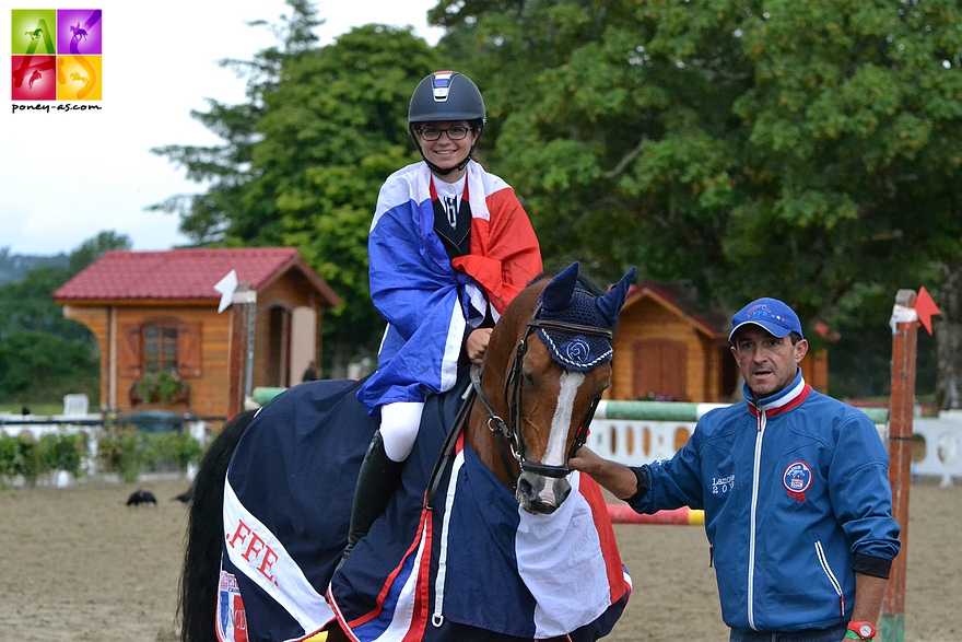 Millstreet 2014 : le double sacre de Ninon et Quabar - ph. Poney As
