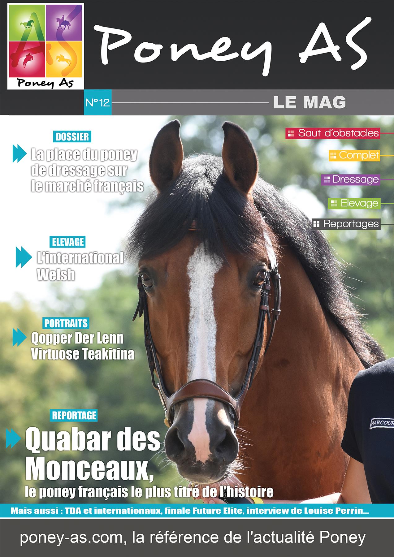 Sortie imminente de la nouvelle édition du Magazine Poney As !