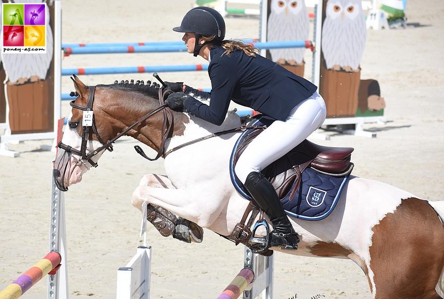 Dragibus du Rouget, bon sportif ayant réalisé une très bonne finale à 7 ans lors du dernier Sologn'Pony, fait partie des 20 étalons ayant le droit de reproduire au sein du Stud-Book du Pfs - ph. Poney As