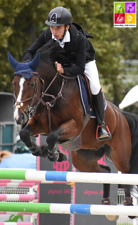 Nohlan Vallat et Cupidon d'Hurl'Vent remportent le Grand Prix As Excellence de la TDA de Saint-Genest-Lerpt – ph. Poney As