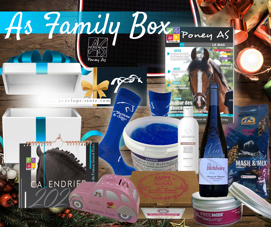 As Family Box by Poney As