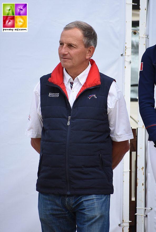 Emmanuel Quittet, sélectionneur de l'équipe de France de CCE – ph. Poney As