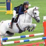 Associé à son poney de tête Urlevent d'Hurl'Vent, Nohlan Vallat empoche l'épreuve phare de la TDA de Chazey-sur-Ain - Ph. Poney As