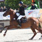Gaétane Orhant et Champagne d'Ar Cus sont les nouveaux champions de France As Poney Elite ! – ph. Poney As