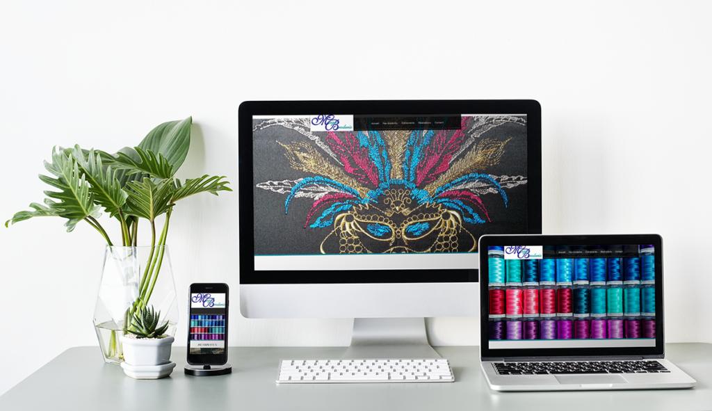 Création site Internet Magic Broderie